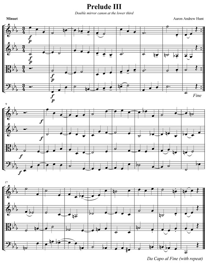 Below Is A Preview From The Book One Of Double Canons For String Quartet With Audio Click To Download Pdf: Twofold Amen Sheet Music At Alzheimers-prions.com